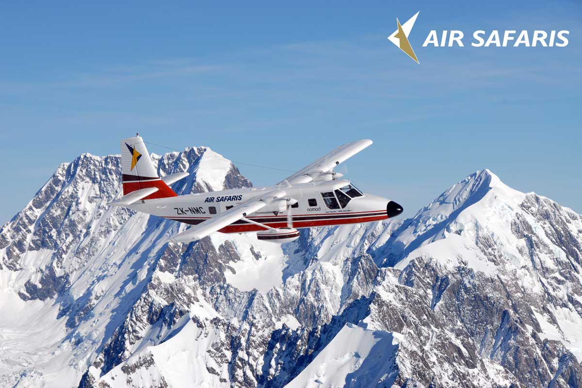Air Safaris Mount Cook Flightseeing