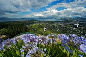 gondola rotorua New Zealand holiday with kids