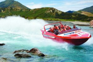 hanmer springs jet boat NZ Family Holiday