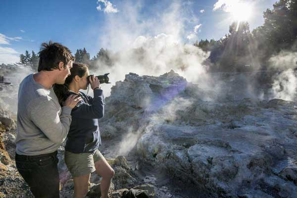 Hell's Gate Geothermal Reserve & Mud Spa