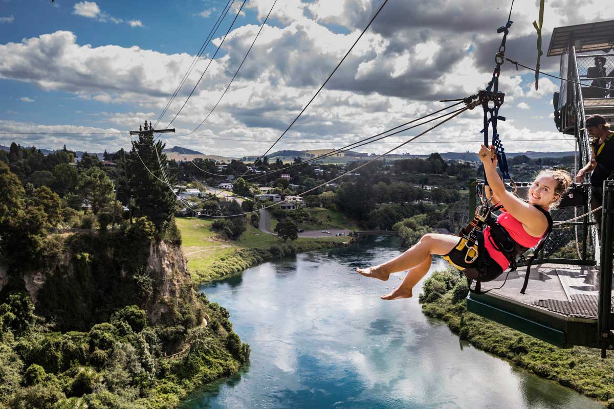 Taupo Bungy & Cliffhanger Extreme Swing
