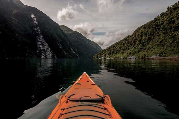 Go Orange Doubtful Sound Kayaking