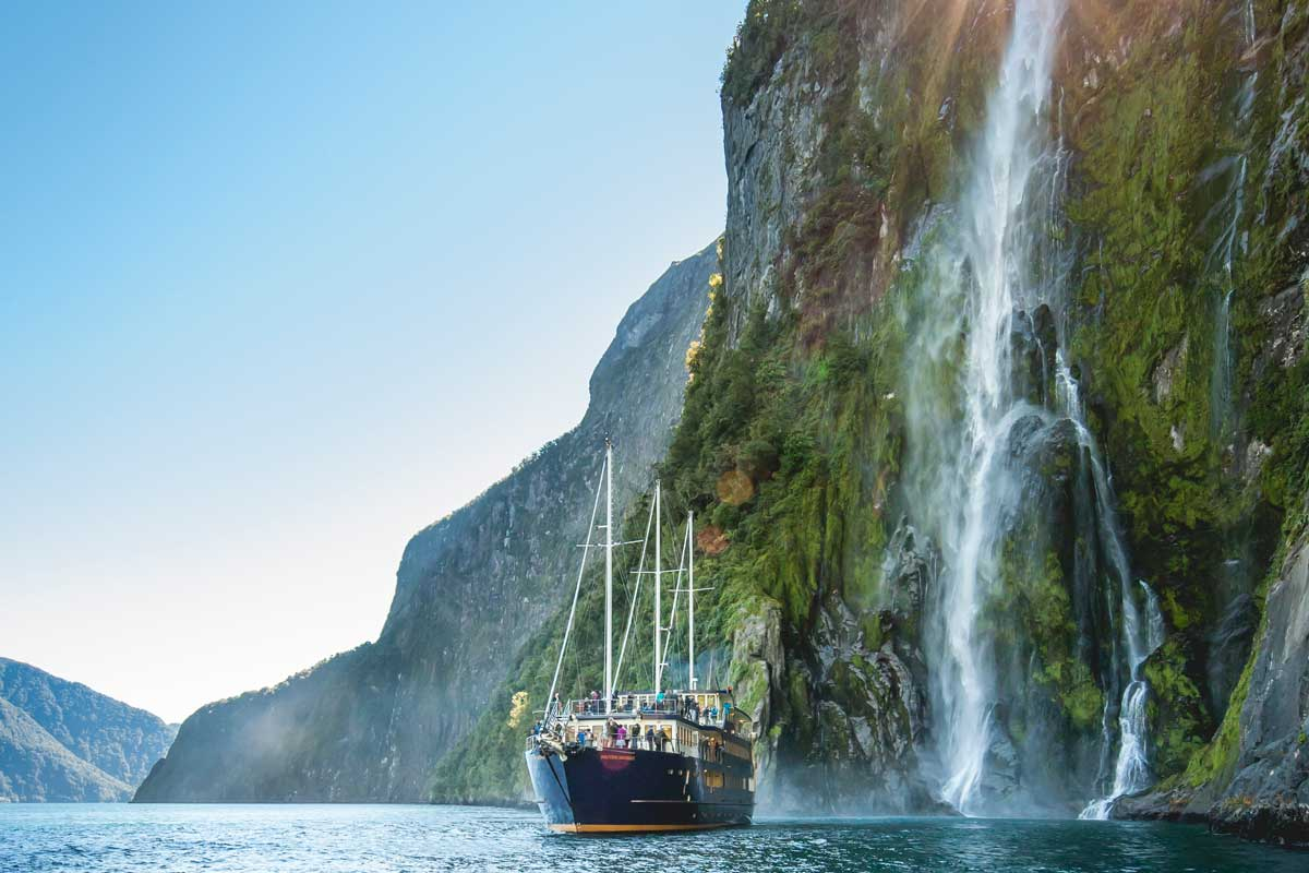 Real Journeys Milford Sound Nature Cruises