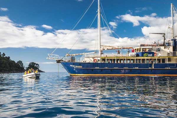Real Journeys Milford Wanderer Overnight Cruise