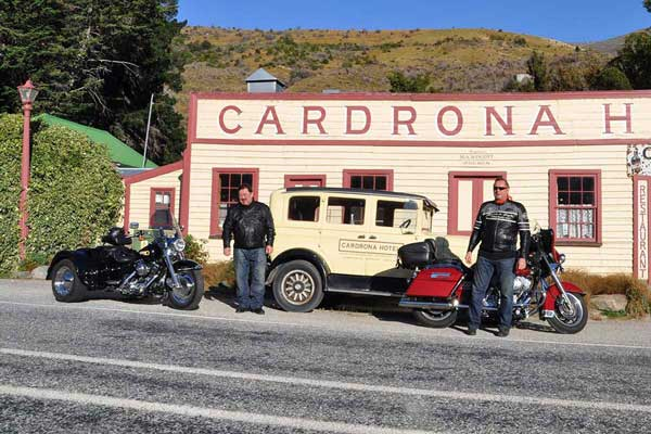 Harley Davidson New Zealand Tours