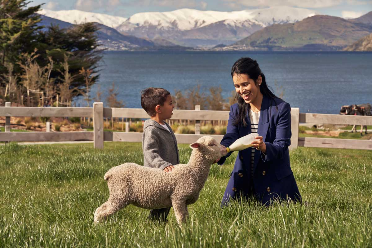 Real Journeys TSS Earnslaw & Walter Peak High Country Farm