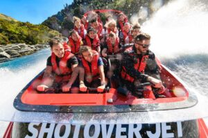 shotover jet boat New Zealand holiday package
