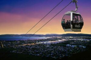 skyline gondola rotorua North Island Family Holiday