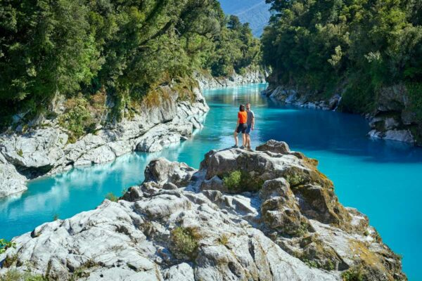 hokitika gorge new zealand south island itinerary 14 days