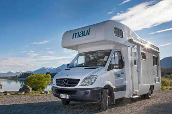 Maui Motorhomes New Zealand